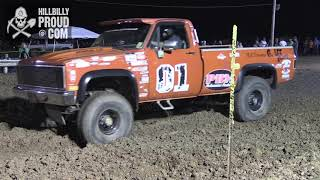 Complete Mud Bog Jackson Co Jr Fair July 27, 2018