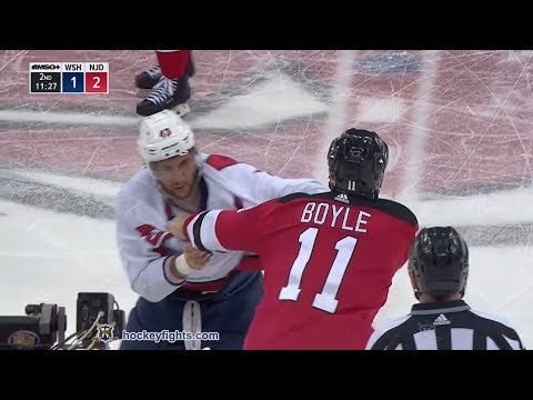 Tom Wilson vs Brian Boyle