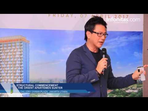 Structural Commencement Event The Orient Apartemen Sunter
