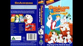 Sing Along Songs   101 Notes Of Fun [UK VHS] (1995)