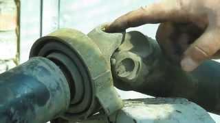 Таблица оборудования и оснастки для замены крестовины карданного вала