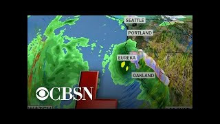 "Powerful jet stream has created ""atmospheric river"""