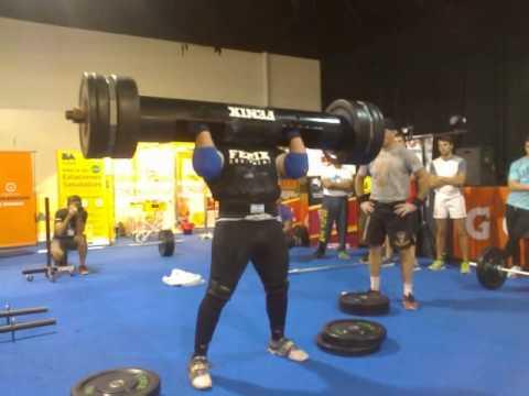negro pons strongman cilindro 153.5kg fenix machine. MERCADO FITNESS 2015