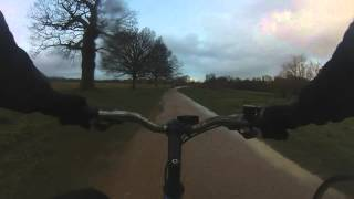 preview picture of video 'Richmond Park offroad bike'