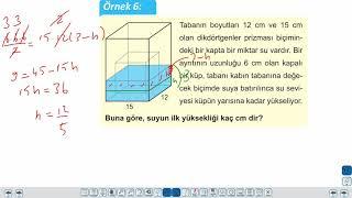 Eğitim Vadisi TYT Geometri 18.Föy Katı Cisimler 1 (Prizmalar, Küp, Piramit, Düzgün Dörtyüzlü, Kesik Piramit) Konu Anlatım Videoları