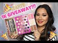 1,000 SUBSCRIBERS GIVEAWAY!!! | Tarte Limited Edition Treasure Box | (Closed)