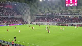 Wideo1: Gol Karola Świderskiego w meczu Albania - Polska 0:1