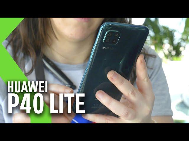 PROBAMOS el Huawei P40 Lite: MUY BUEN precio con ESPECIFICACIONES cerca de los GAMA ALTA