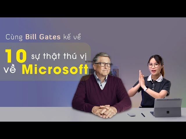 10 Sự thật thú vị về Microsoft | TOP 10 TECH