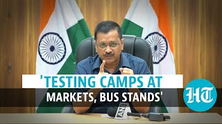 Surge in Delhi Covid cases due to... CM Arvind Kejriwal on testing more  IMAGES, GIF, ANIMATED GIF, WALLPAPER, STICKER FOR WHATSAPP & FACEBOOK