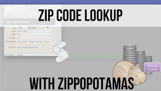 Zip Code Lookups with Zippopotamas | FileMaker 14 Training