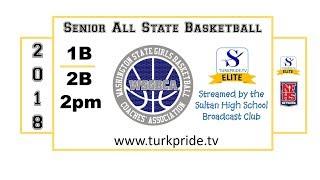 2018 1B vs 2B Senior All State Girls Basketball