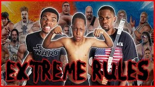 WWE All-Stars Gameplay   #ThrowbackThursday ft. Juice and Trent - AYE! LET'S JUMP HIM!