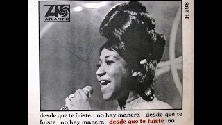 """Aretha Franklin - (Sweet Sweet Baby) Since You've Been Gone / Ain't No Way - 7"""" Spain - 1968"""