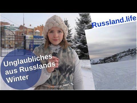 Unglaubliches vom russischen Winter [Video]