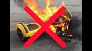 Tutorial | How to Properly Charge a Hoverboard and Cable Assembly to Prevent Explosions!