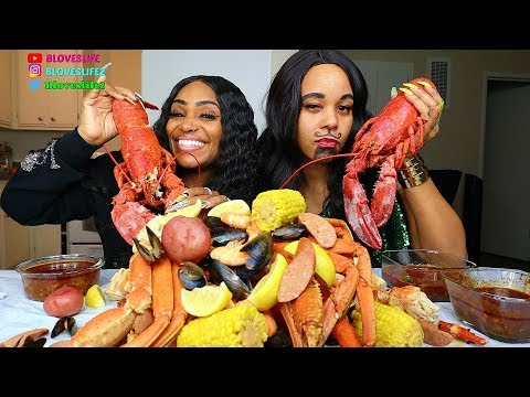 Seafood Boil with Sasha