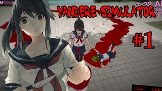 Yandere simulator - รุ่นพี่คะ หันมารักหนูสิคะ #1 zbing z.