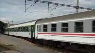První jízda - R 1203 Jadran Praha hl.n. - Bratislava - Split
