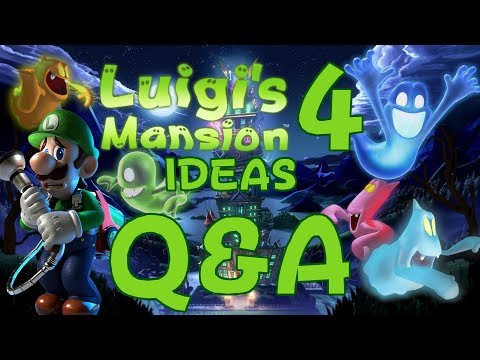 Q&A About My Upcoming Luigi's Mansion 4 Ideas Video! - ZakPak