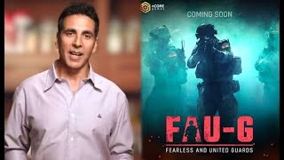 FAU- G GAME AKSHAY KUMAR || INDIAN FAUG MOBILE GAME|| NEW LAUNCH  IMAGES, GIF, ANIMATED GIF, WALLPAPER, STICKER FOR WHATSAPP & FACEBOOK