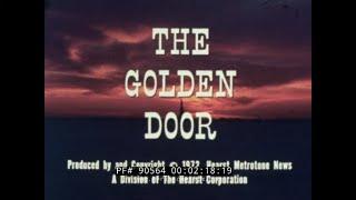 """""""THE GOLDEN DOOR""""  1970s VISIT TO ELLIS ISLAND & HISTORY OF U.S. IMMIGRATION   MIGRANTS  90564"""