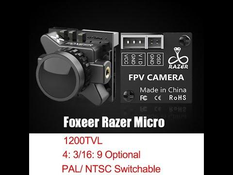 Foxeer Razer Micro 1/3 CMOS 1 8mm Lens 1200TVL da Banggood