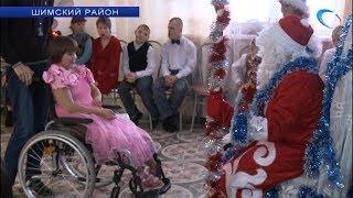 В детском доме-интернате имени Ушинского прошел новогодний утренник