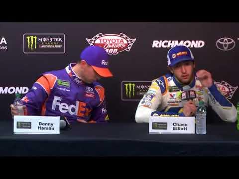 2018 NASCAR Richmond Monster Cup post-race Q&A