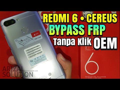 Redmi 6 Cereus Flashing