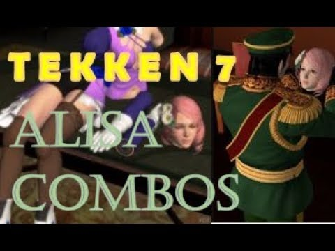 Tekken 7 Alisa Combo Tips, Wall Carry, Okizeme, Set ups, Tricks, and X Rated Pranks