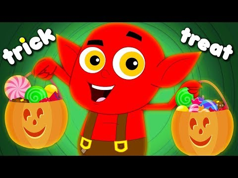 Knock Knock Trick Or Treat Halloween Songs | Scary Nursery Rhymes Baby Songs For Kids