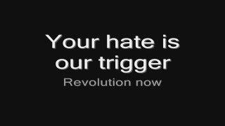 Arch Enemy - Under Black Flags We March (lyrics) HD