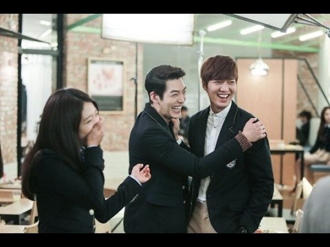 The Heir lee min ho and Park shin hye Behind the scence, The Heirs 상속자들 Making Film funny,