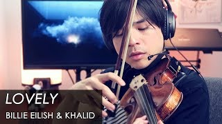 Billie Eilish, Khalid   Lovely [Violin Cover] 【Julien Ando】