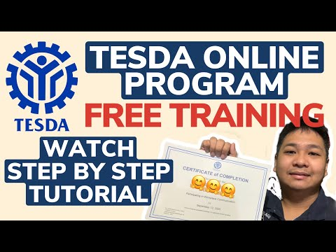 Tesda Online Program- FREE Training. How to Enroll? Tesda Course Offered- Online Course