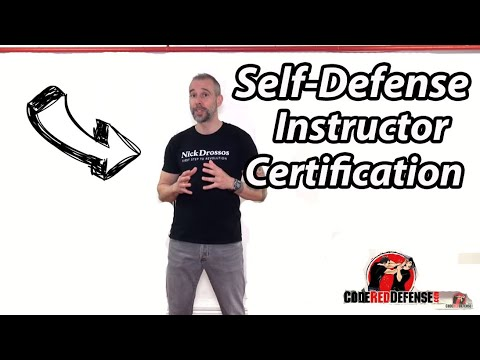 Nick Drossos Self Defense Instructor Certification Course - YouTube