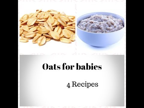 Oats Recipes for Babies