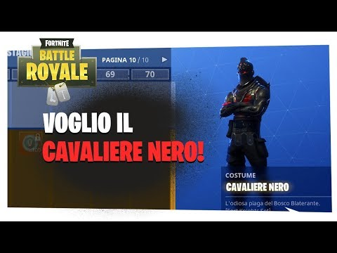 Fortnite Come Avere Cavaliere Nero Femmina Free Video Search Site