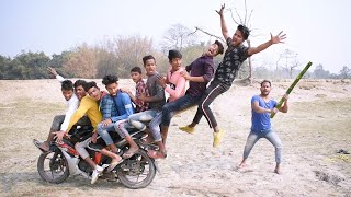 TRY TO NOT LOUGH CHALLENGE Must watch new funny video 2021 Episode-75 By Bindas fun bd