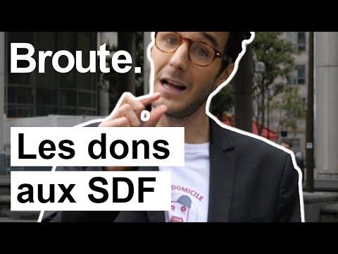 Le business juteux des SDF - Broute