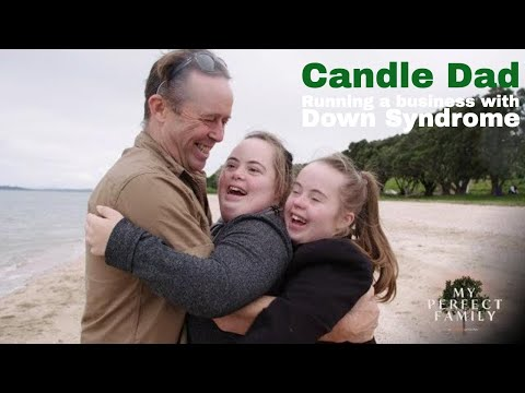 Ver vídeo Running a business with Down Syndrome (My Perfect Family: Candle Dad)