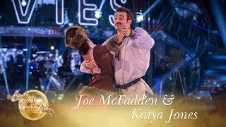 Joe McFadden and Katya Jones Viennese Waltz to 'Somewhere My Love' - Strictly Come Dancing 2017