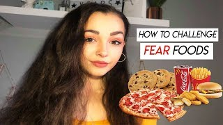 How to Challenge & Overcome Fear Foods   Anorexia Recovery