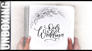 UNBOXING Bloom Daily Planners Wedding Planner