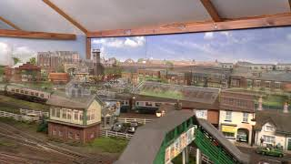 Dave`s Model Railway .. Extra Passenger Traffic For Holidays