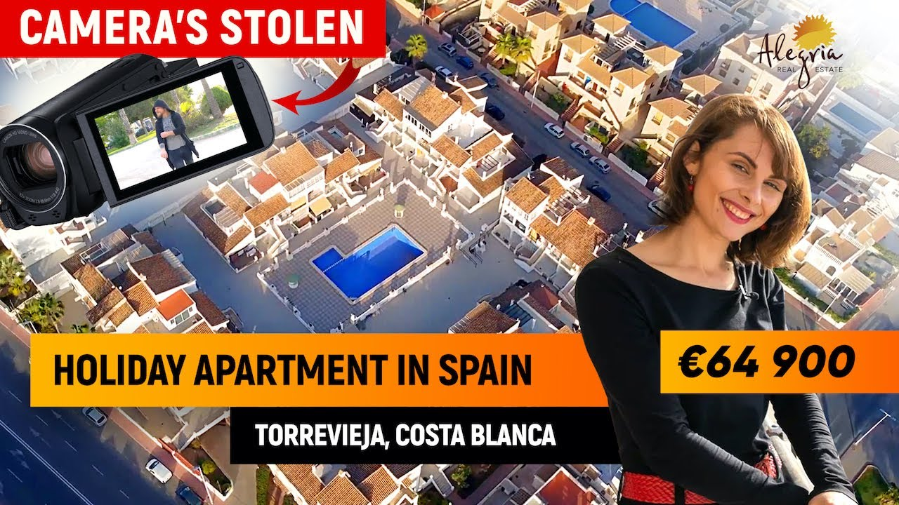 Apartments for sale in Spain. Apartment in Torrevieja, Costa Blanca [4K]