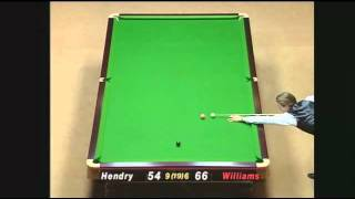 98 masters final between stephen hendry v Mark williams Video