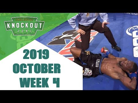 Boxing Knockouts | October 2019 Week 4