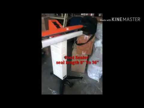 Foot Operated Sealer Machine